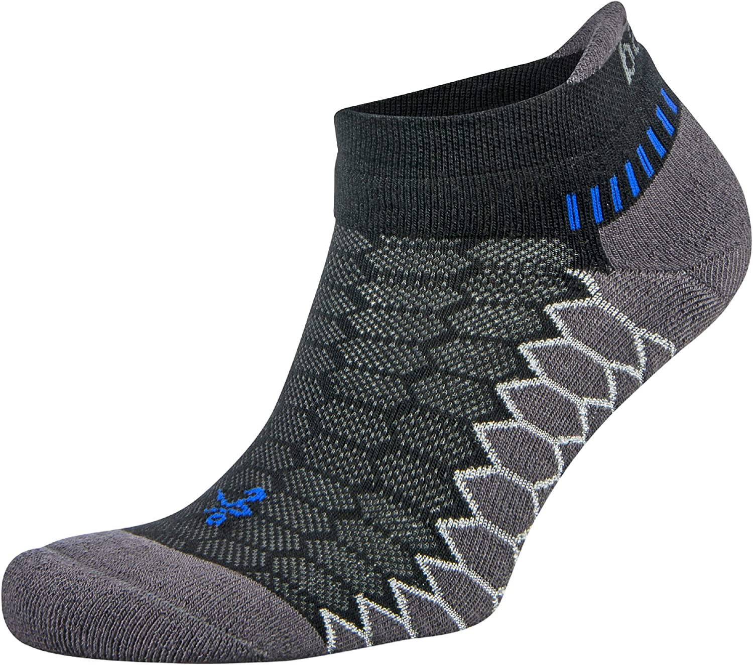Balega unisex-adult Silver Antimicrobial No-show Compression-fit Running Socks : Clothing