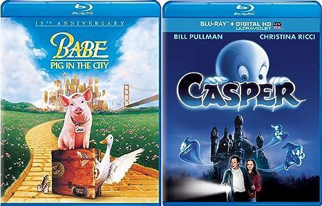Amazon com: Casper The Friendly Ghost & Babe: Pig in the City Blu