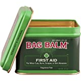 Vermont's Original Bag Balm First Aid Skin Protectant, 4 Ounce Tin Healing, Moisturizing Ointment, First Aid & Wound Care Salve