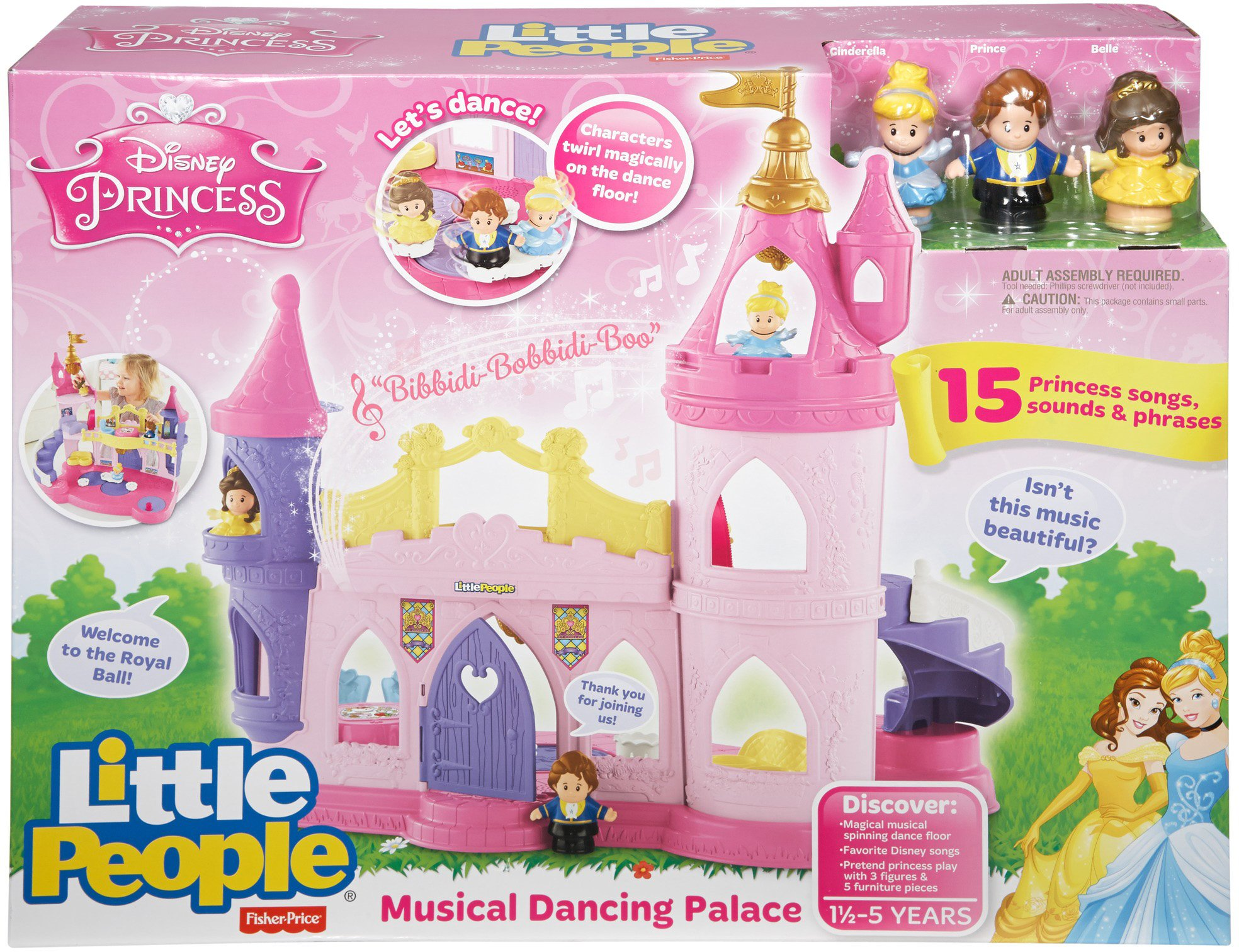 Fisher-Price Little People Disney Princess, Musical Dancing Palace by Fisher-Price (Image #5)