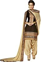 Kvsfab Women's Dress Material (2756Jodha-2_Free Size_Purple)