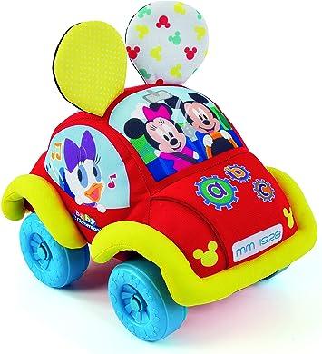 Baby Clementoni- Baby Disney Coche Blandito Interactivo, Multicolor (Clementoni Spain 55259): Amazon.es: Juguetes y juegos