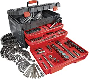 Craftsman 9-27032 263-piece Mechanic's Tool Set with 3-Drawer Lift-Top Tool Chest