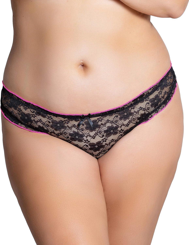 Black//Red Trim  Bra /& Thong Brief Lingerie//Underwear Set Valentines Gift CY