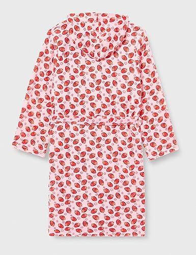 Playshoes M/ädchen Erdbeeren Bademantel rosa 14 158//164