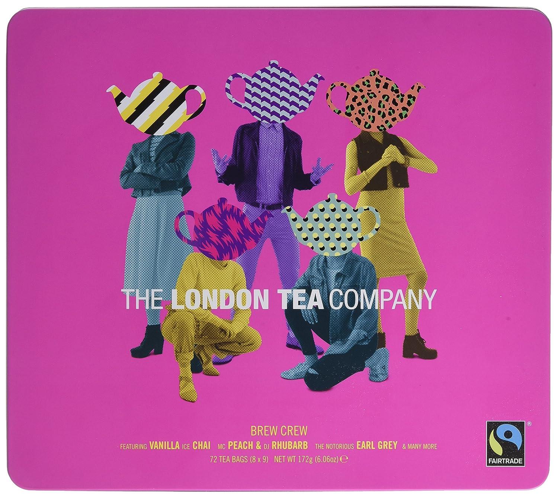 The London Tea Company Brew Crew Gift Tin 172 g: Amazon.co.uk: Grocery