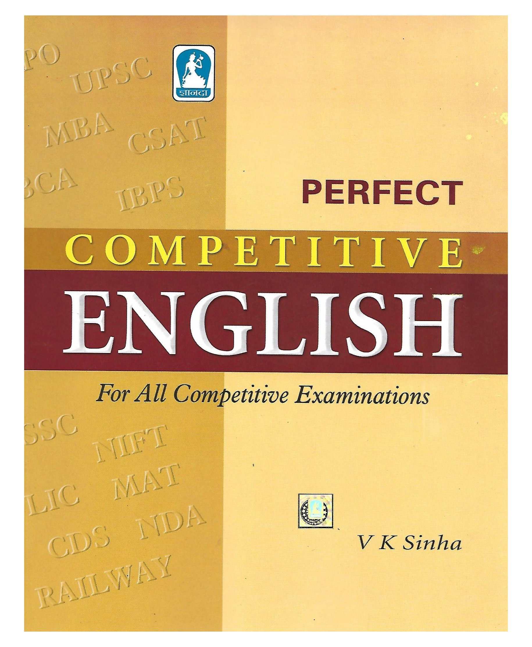 Perfect Competitive English: V K Sinha: Amazon com: Books