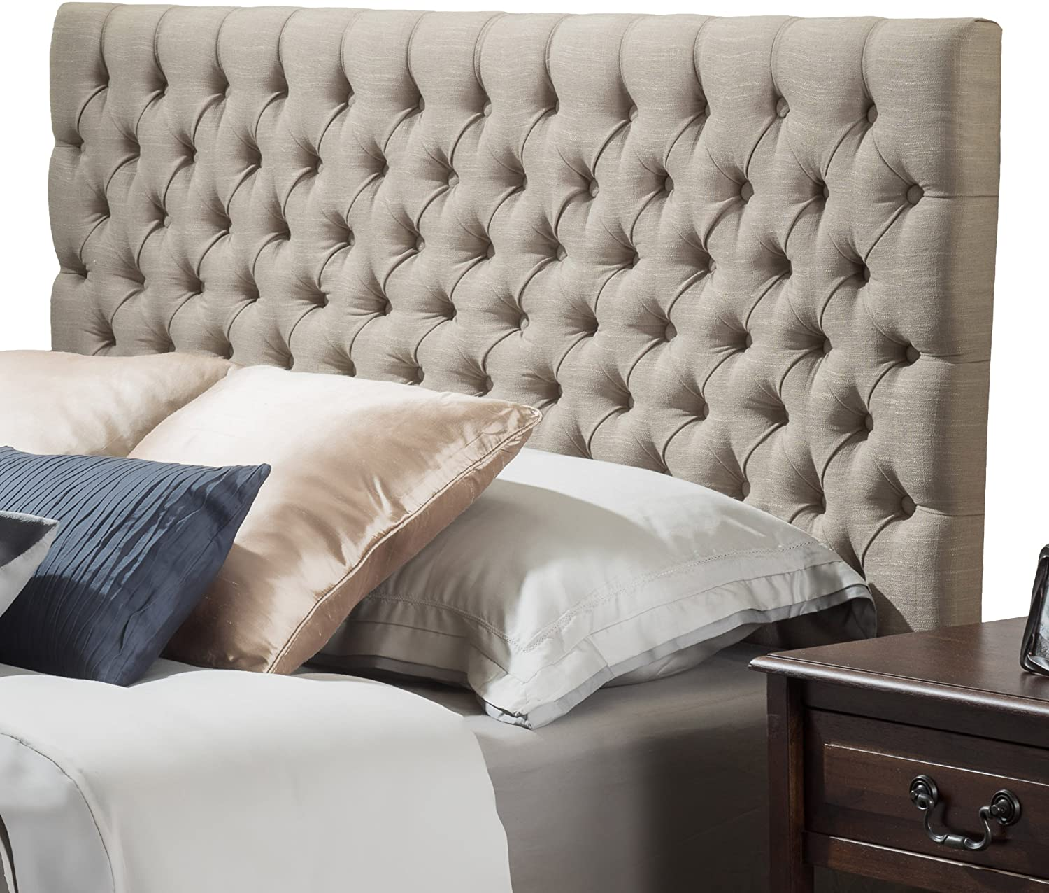 Best button tufted headboard for adjustable bed – Christopher Knight Home Jezebel Headboard