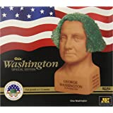 Chia Pet George Washington, Decorative Pottery Planter, Freedom of Choice, Easy To Do and Fun To Grow, Novelty Gift, Perfect For Any Occasion (Contains Packets For 3 Plantings)