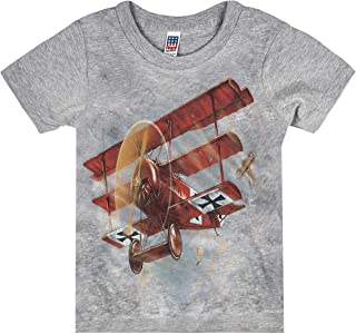 product image for Shirts That Go Little Boys' Red Baron Airplane T-Shirt