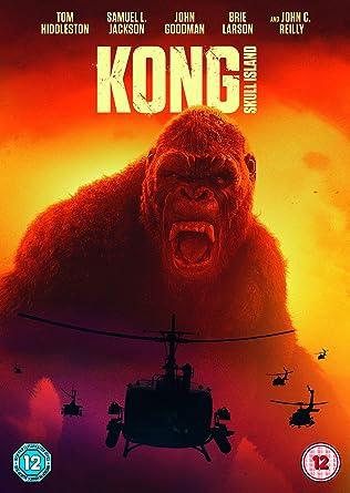 Kong Skull Island Dvd 2017 Amazoncouk Tom