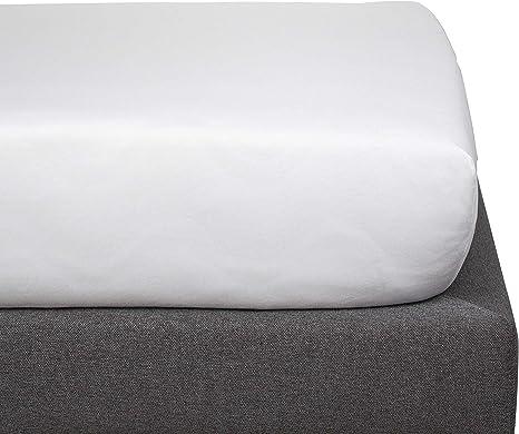 Kadolis Sábana Bajera de algodón orgánico - Infantil Blanco 90 x 140 cm: Amazon.es: Hogar