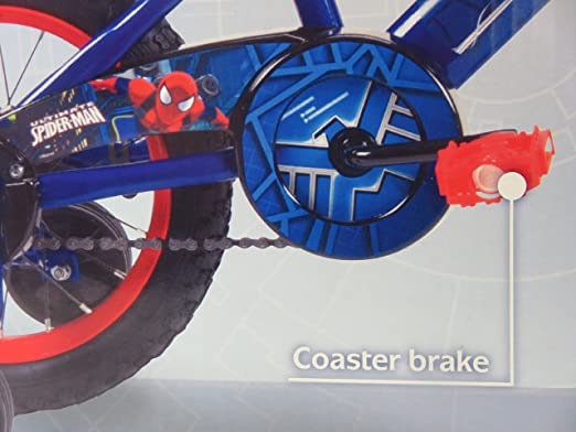 Huffy Spider-Man Bike 14 - Blue/Red by Huffy: Amazon.es: Deportes ...