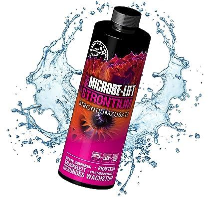 Microbe-Lift 9051S Strontium - Accesorio de estroncio para Acuario de Agua Salada, Talla