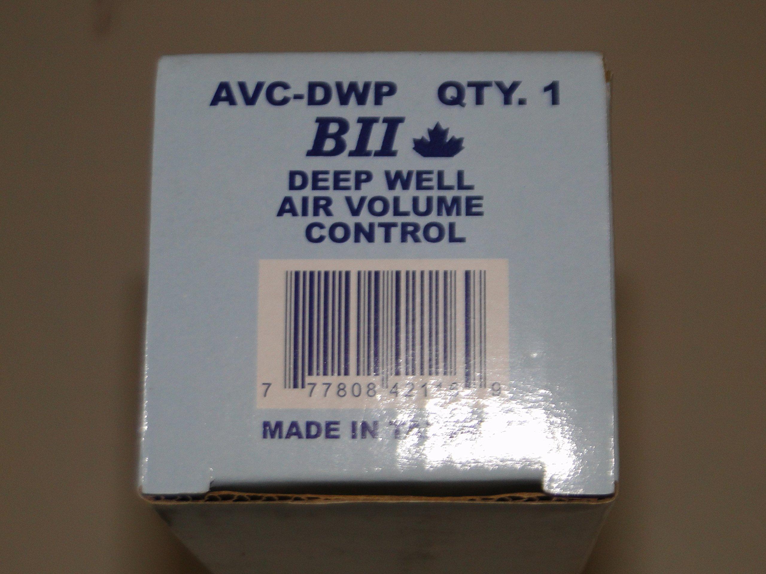 BOSHART BII BRAND DEEP WELL AIR VOLUME CONTROL (AVC-DWP) AIR RELEASE VALVE FLOAT-TYPE