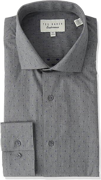 Robert Graham Mens Long/ Classic Fit Check Dot Dress Shirt