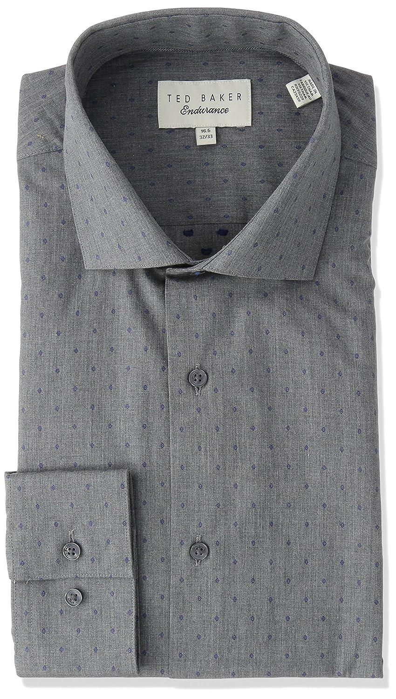2a6247930 Amazon.com  Ted Baker Men s Tidies Slim Fit Dress Shirt  Clothing