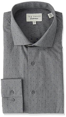 cbfc7aeb9c43 Amazon.com  Ted Baker Men s Tidies Slim Fit Dress Shirt  Clothing