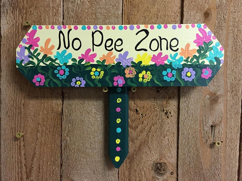 No pee sign, No Pee Zone