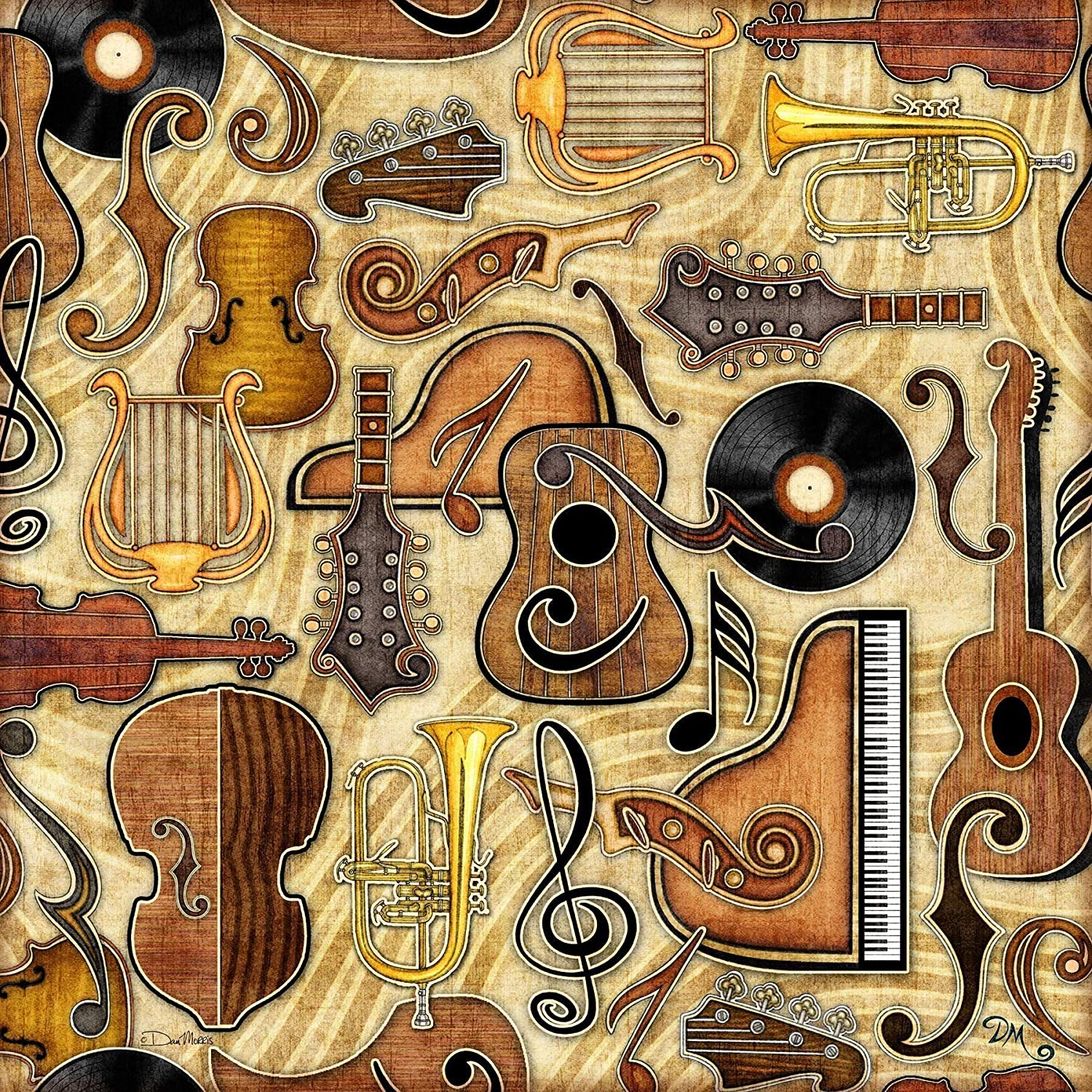 Music Tapestry by Dan Morris, 28
