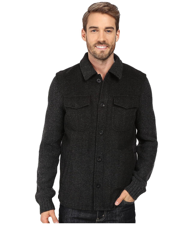 ロバートグラハム メンズ コート Prof. Hinkle Sweater Jacket [並行輸入品] B07BQXV51W LG_(US_42)