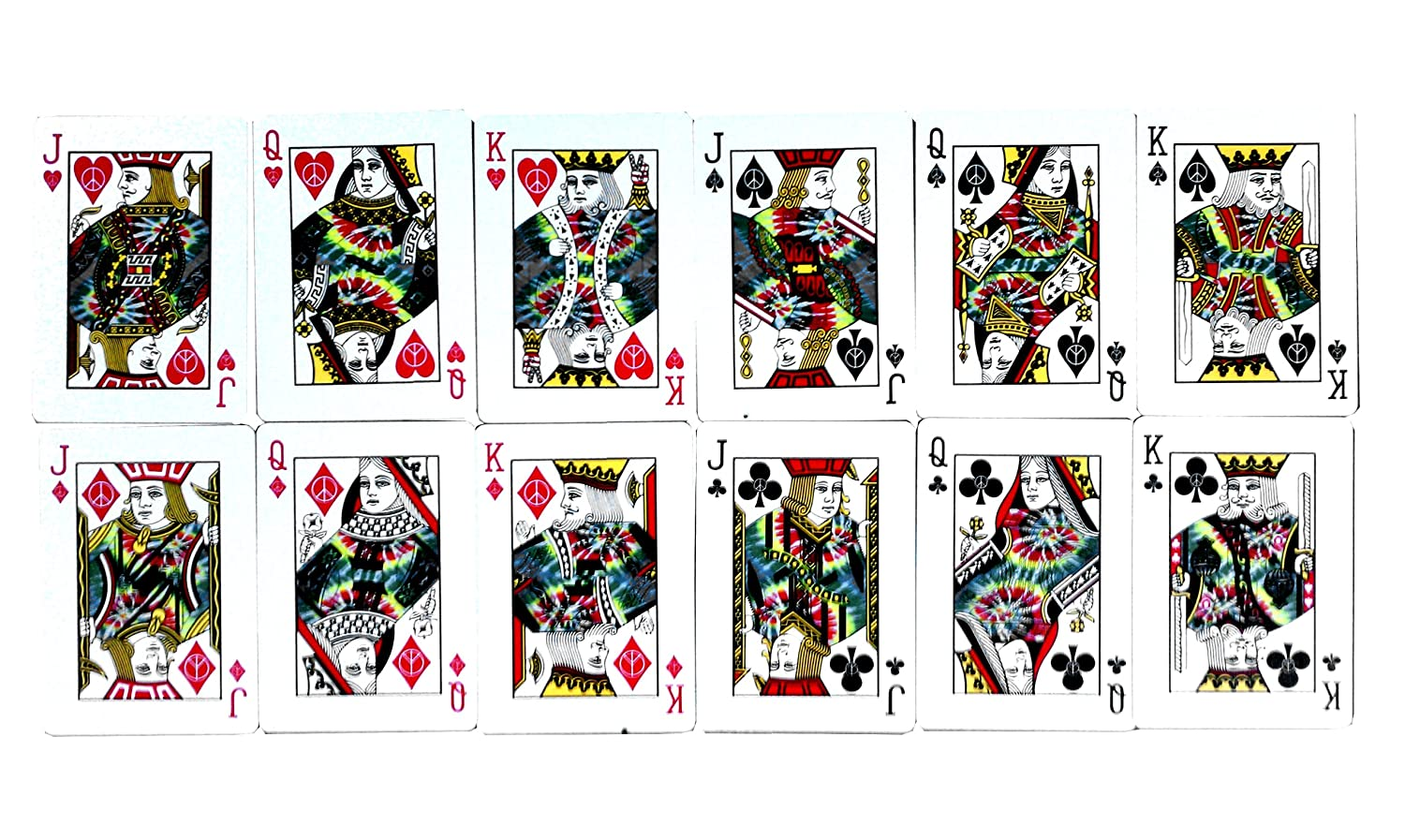 Merz67 Exclusive Lot 2 Bicycle Tie Dye Playing Cards Collection 1st and 2nd Generation Decks