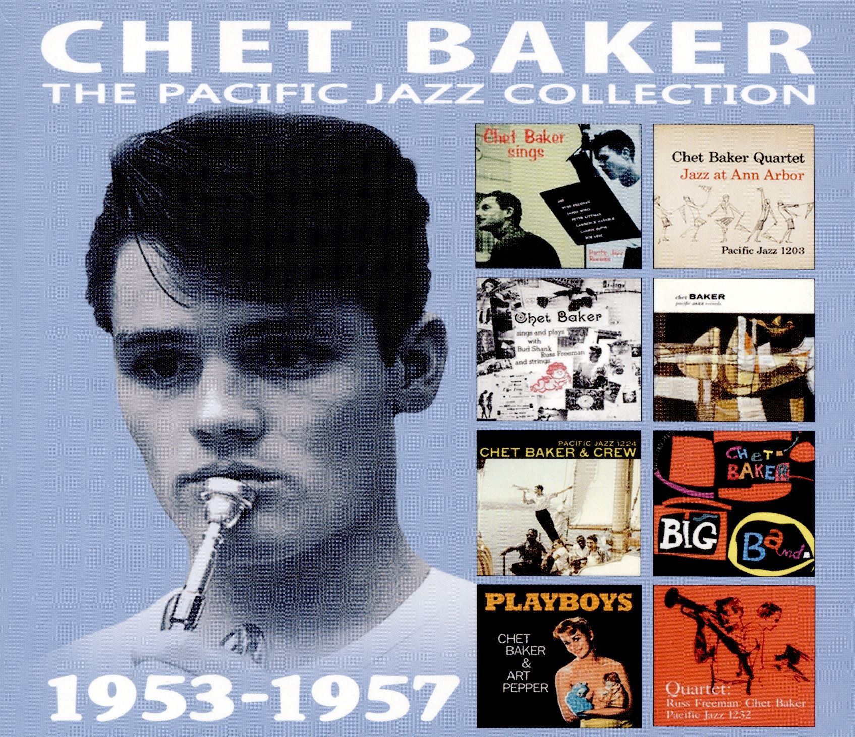 CD : Chet Baker - Pacific Jazz Collection (4 Disc)