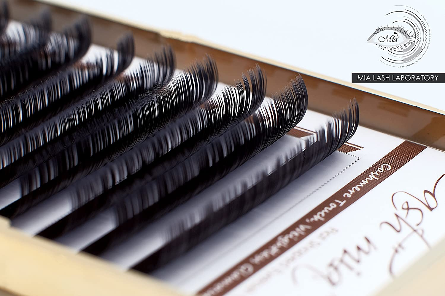 Amazon.com : [0.15 C] Cashmere Flat Shaped X-wrap Individual Eyelash Extension Semi Permanent in 8-14mm & Mixed Length Tray (0.15 C Mixed(8-14mm)) : Beauty