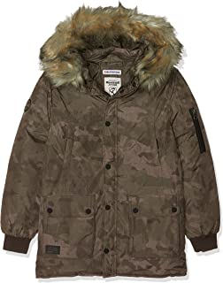 Redskins Victory, Cappotto Bambino (Marron Camouflage) 10 Anni Redskins Junior