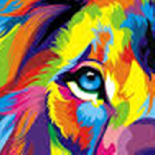 Kaleidoscope Neon Drawing]()