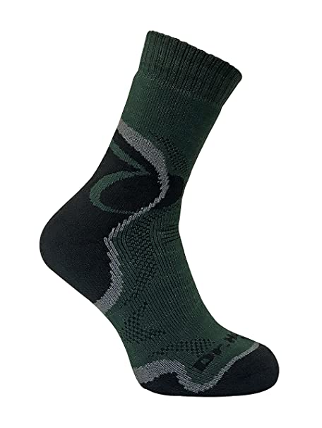 Dr Hunter - Hombre invierno trekking gruesos senderismo cortos merino lana calcetines: Amazon.es: Ropa y accesorios