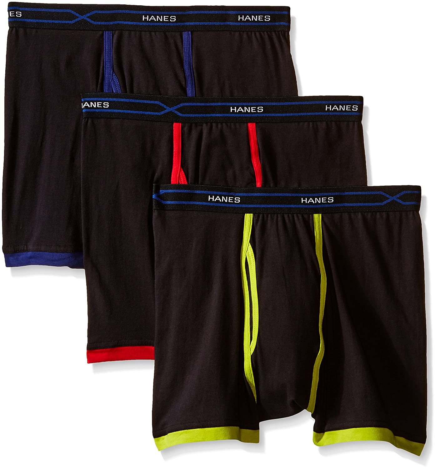 Hanes Men's Men's 3-Pack X-Temp Short Leg Active Cool Boxer Brief MTBSA3