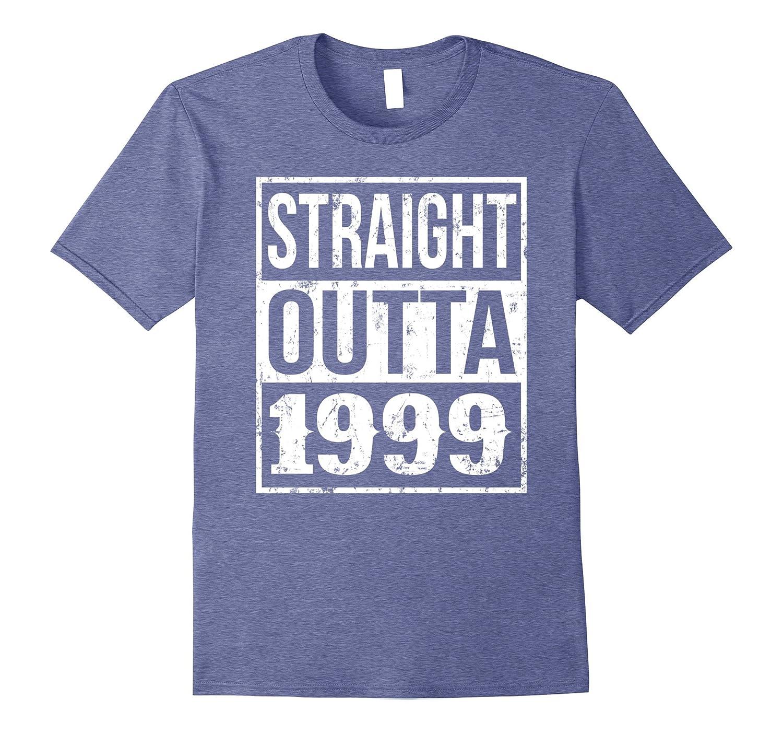 18th Birthday Gift T-Shirt Straight Outta 1999-CD