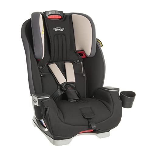 Graco Milestone All-in-One Car Seat, Group 0+/1/2/3, Aluminium