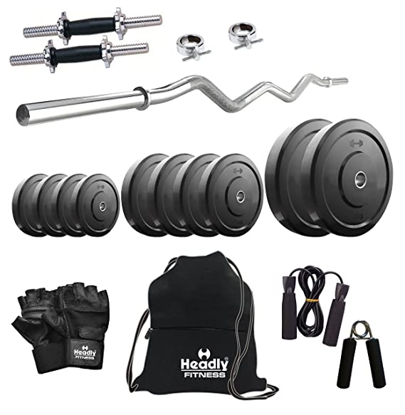 Headly 10kg Combo 3 Home Gym Exercise Sets