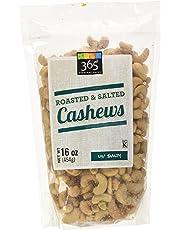 365 Everyday Value Cashews - Roasted & Salted, 16 oz