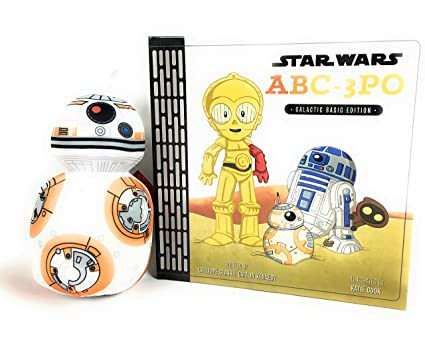 Kohl S Star Wars Abc 3po Book And Bb 8 Stuffed Toy Bundle
