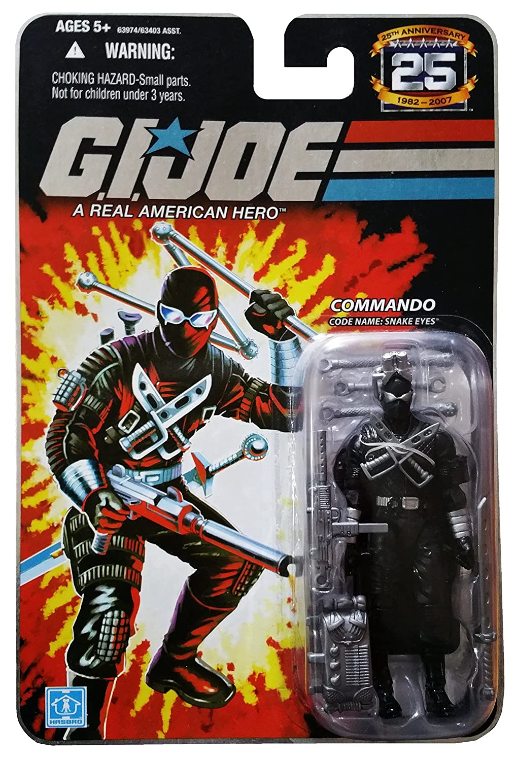 G.I. JOE Hasbro 25th Anniversary 3 3/4