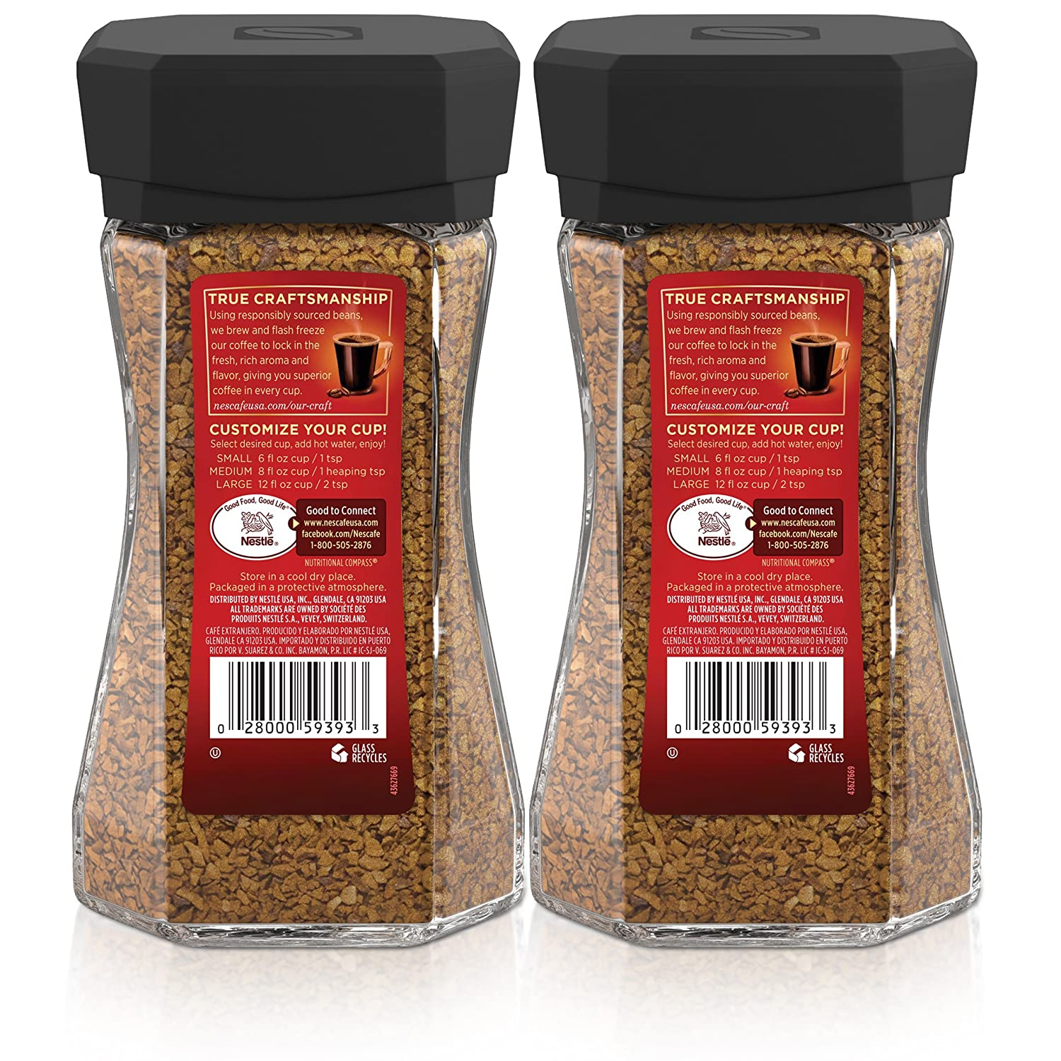 Nescafe Taster's Choice House Blend Instant Coffee, 7 ...