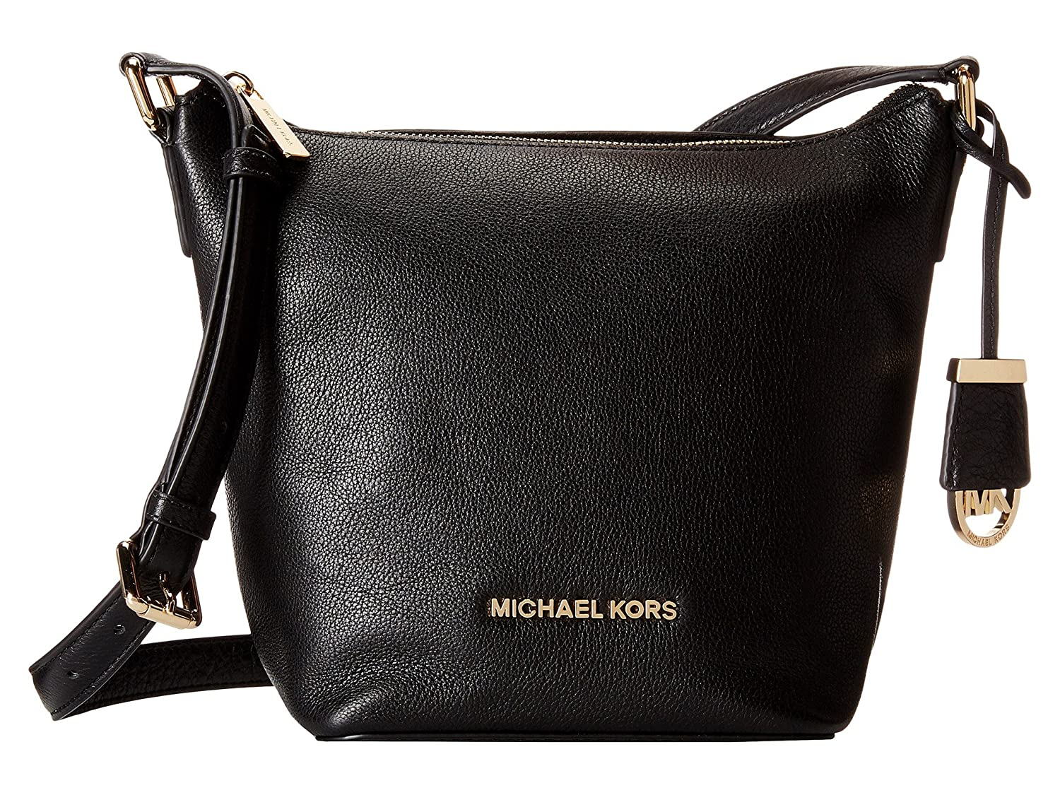 Michael Kors Bedford MD Messenger Leather - Black 30T5GBFM2L-001   B00WDW6RM8