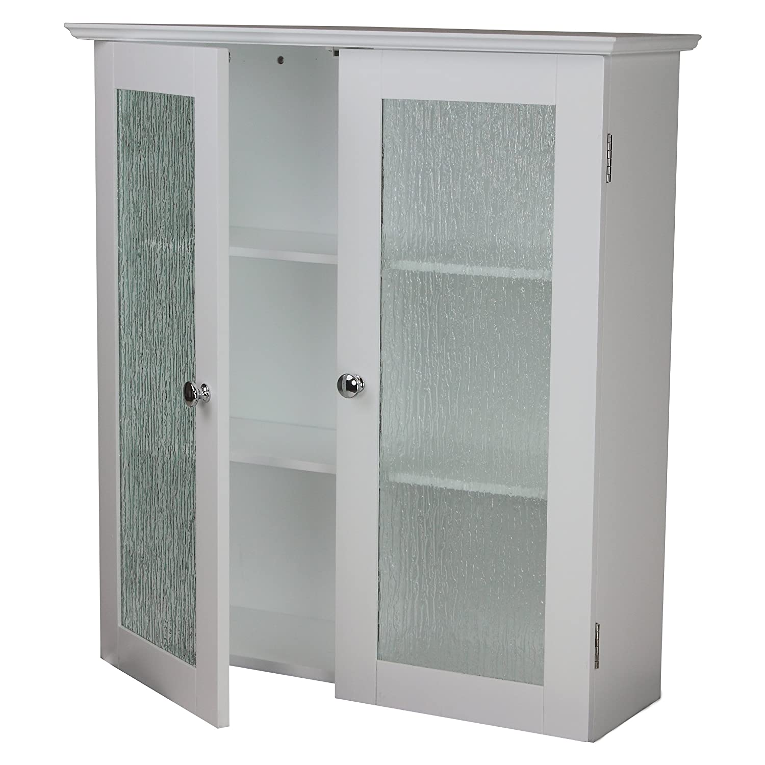 Amazon.com: Elegant Home Fashions Rain Collection Wall Cabinet ...