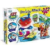 Art Attack - macchina di carta di riciclo (Clementoni 65443)