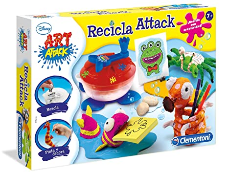 Clementoni Art Attack Maquina De Reciclar Papel 65443 7 Amazon