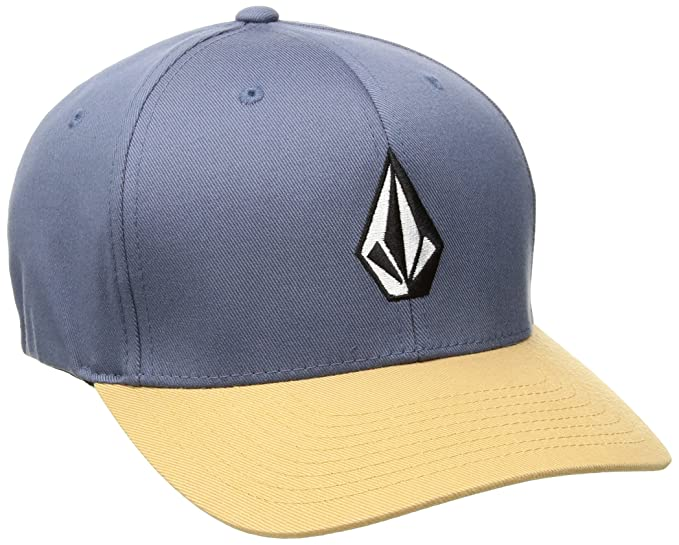 ca0a85b015fb0 Volcom Mens Full Stone Flexfit Stretch Twill Hat Baseball Cap ...