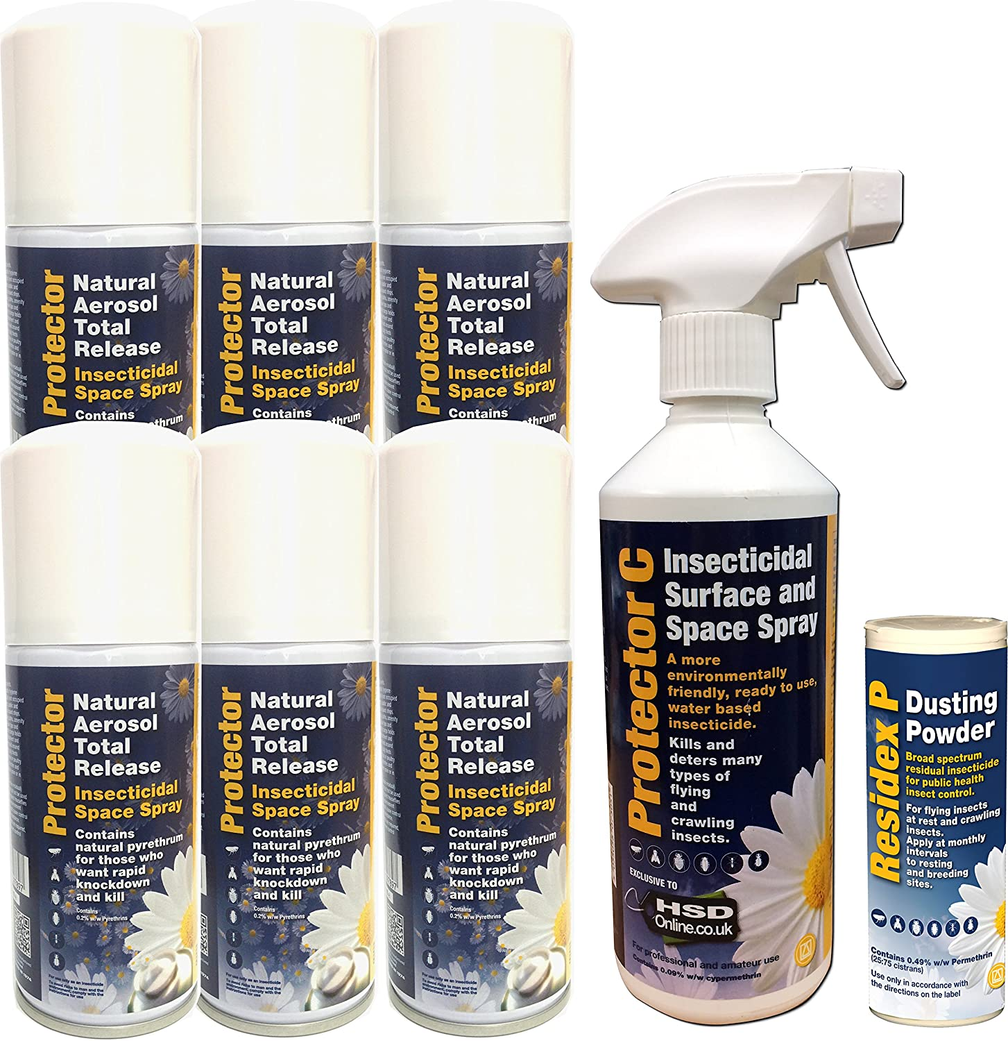Loft and Attic Cluster Fly Killer Fogger, Spray and Powder Kit Sales Direct