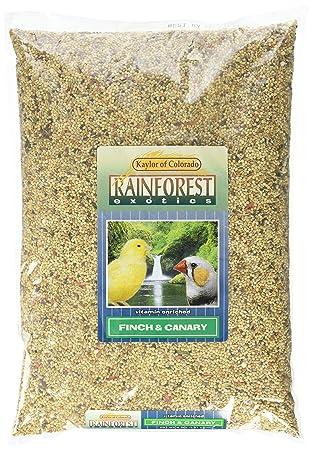 kaylor-made selva Exotics Canarias con vitaminas y servilletas de alimentos