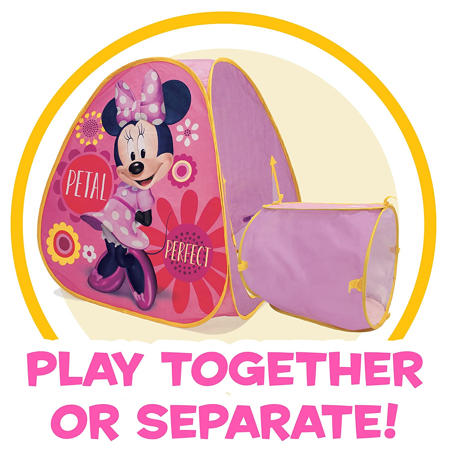 Amazon Com Playhut Disney Minnie Mouse Hide About Play Tent