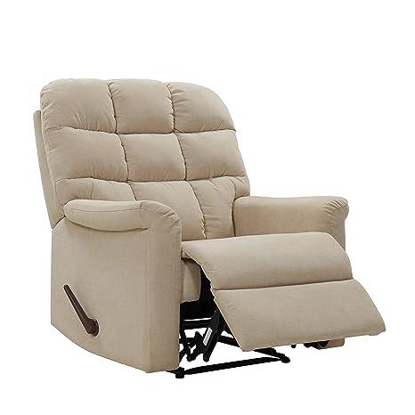 Strange Amazon Com Domesis Tufted Back Extra Large Wall Hugger Ibusinesslaw Wood Chair Design Ideas Ibusinesslaworg