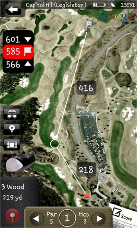 Mobitee Golf GPS Medidor