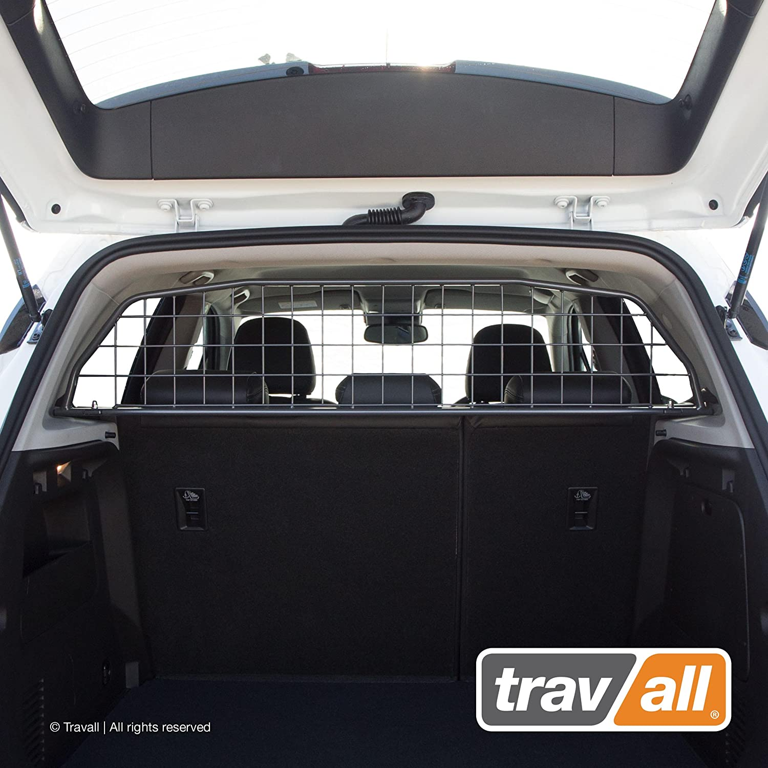 Travall Guard Compatible with Buick Encore 2012-2016 Also for Chevrolet Trax 2013-Current TDG1345 – Rattle-Free Steel Pet Barrier